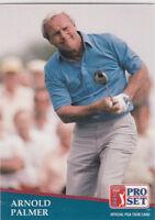 ARNOLD PALMER 1991 Senior PGA Pro Set RARE VINTAGE GOLF CARD The King NO RES!