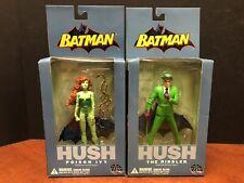 DC Direct Batman Hush The Riddler & Poison Ivy Lot Of 2 EM4107