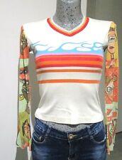 top de marque CUSCO BARCELONA taille S 36 38 haut tee shirt maillot woman femme