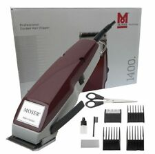 Tosatrice Professionale Moser Type 1400 con Set Rialzi * Made in Germany *