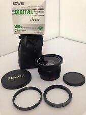 BOWER DIGITAL PROFESSIONAL LENS .42X  SUPER FISHEYE WIDE ANGLE LENS