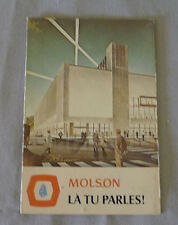 Original NHL  Montreal Canadiens 1968-69 Official Hockey Schedule