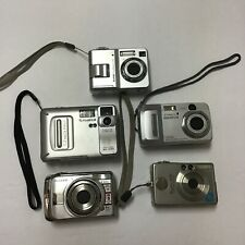LOT~Fuji Film Finepix A820, Mx-1200, Olympus, Canon Power Shot, Kodak Easy Share