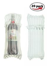 New listing 100x Wine Bottle Protector Bags 20 Pack Inflatable Air Column Cushioning Sleeves