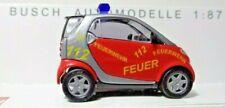 Busch 48908 Smart City Coupé Feuerwehr Hamburg, OVP 1/87 H0