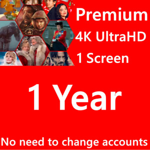 🎬🔥NETFLIX 12 M✅SUPPORT✅ 4 DEVICES✅ 4K🎬🔥 5 USERS