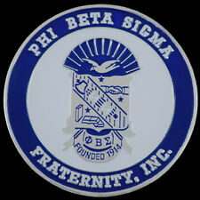 Phi Beta Sigma Fraternity Car Emblem-New!