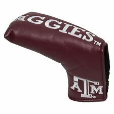 NCAA Texas A&M Aggies Golf Vintage Magnetic Blade Putter Cover