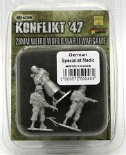 Konflikt '47 453010208 German Specialist Medic (& Bodyguards) Weird War Infantry