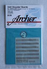 Archer 1/35 Afrika Korps Heer Shoulder Boards for Artillery Troops FG35054C