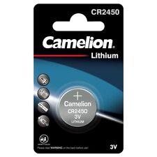 1x CR2450 Lithium Batterie Knopfzelle 3 Volt 3V 550mAh Camelion im Blister
