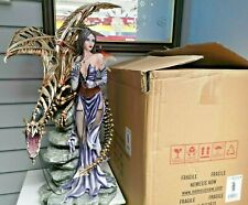 More details for nemesis now- draconis - large fairy figurine -  26.5 inches.