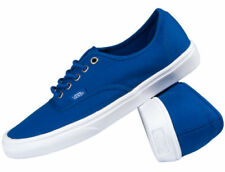 Vans Authentic Lite Blue Men's Trainers Shoes Snakers  Light Ortholite Size 5.5