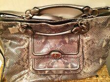 COACH NWT Python Leather Bag Large