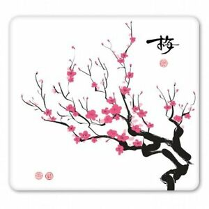 Cherry Blossoms Car Vinyl Sticker - SELECT SIZE