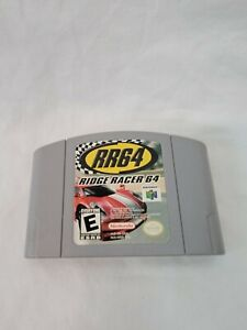 Ridge Racer 64 RR64 (Nintendo 64) N64 Tested, Working!