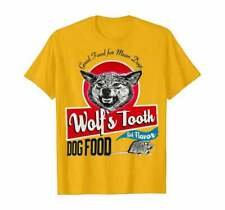 Wolfs Tooth Dog Food Rat Flavored Once Upon A Time Retro Vintage Greatest Tshirt