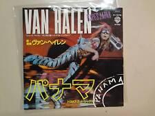 """VAN HALEN:Panama 3:31-Drop Dead Legs 4:13-Japan 7"""" 1984 Warner Bros.DJ Label PSL"""