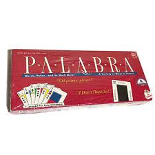 Palabra Card Game 1990 Complete Vintage Kondrick Red Deck Cards New Sealed