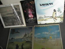 5 KGB Radio Home Grown Vinyl Records #'s 1 2 3 5-7 - San Diego EX COND