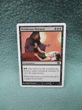 Murderous Betrayal Magic Gathering Enchantment Card Games Toys Wizards of Coast