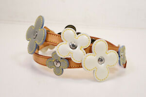 Auth Pre-owned Louis Vuitton Vernis Flower Lexington Ceinture Belt M92253 210367