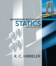 Engineering Mechanics : Statics by Russell C. Hibbeler (2008, Hardcover)