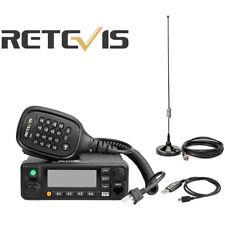 DMR Retevis RT90 50W DualBand Display Digital Mobile Car Radio+1USBCable+Antenna