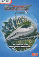 THE TRAIN GIANT A-Train 9 Management Simulation Sim PC Game WinXP, Vista, 7 -NEW
