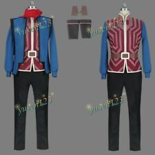 Il Principe Drago Callum MEN'S Costume Cosplay costume Vestito Su Misura uniforme
