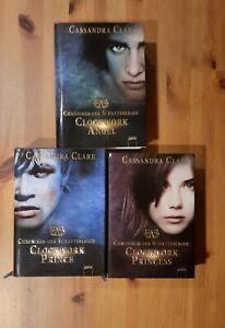 Chroniken der Schattenjäger, Teil 1-3, Cassandra Clare, gebundene Ausgaben