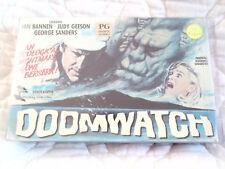 DOOMWATCH VHS MONTEREY BIG BOX IAN BANNEN JUDY GEESON GEORGE SANDERS HORROR