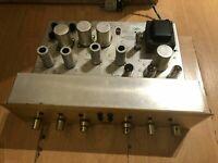 Scott Type 130 Stereo Tube Preamplifier Functioning Sylvania Tubes