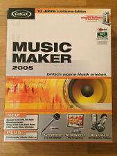 Magix Musik Maker 2005 10 Jahre Jubiläums Edition aufnehmen arrangieren