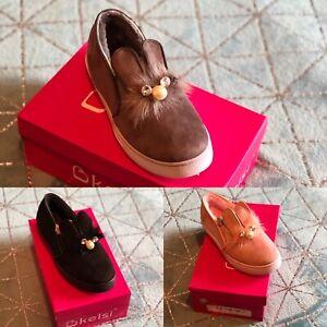 Kelsi Girls bunny style shoes