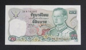 Thailand Banknote - 1981 20 Baht Unc Sign. 53 (P88)