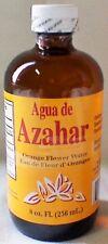Agua De Azahar 8 Oz. Orange Flower-Blossom Water Drink Ease Stress Glass Bottle