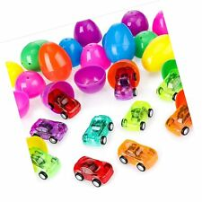12 Pieces Easter Surprised Eggs Toy Filled Easter Eggs Colorful Eggs with 12 .
