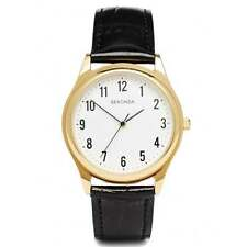 Sekonda Gents Gold Plated Water Resistant Quartz Watch