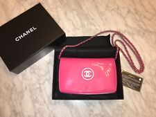 NIB Authentic Chanel Wallet On Chain Rare Pink Patent