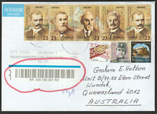SERBIA - COVER to QUEENSLAND AUSTRALIA