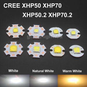 CREE XHP50 XHP70 XHP50.2 XHP70.2 2 generation LED chip 6/12V+16/20mm Copper PCB