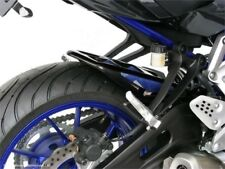 Yamaha MT-07  FZ-07  14-2018 Rear Hugger Powebronze  Carbon look & Blue Mesh