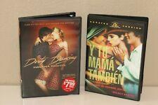 Diego Luna Dvds - Y Tu Mama Tambien and Dirty Dancing (Havana Nights)