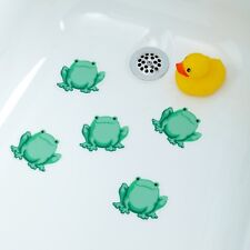 "Frog Tub Tattoos (5"" x 5"") in Green by SlipX Solutions: Tub Decals & Appliques"