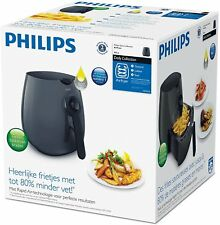 Philips Airfryer HD9216/41 Healthier Chips & Food, Oil Free Fryer in Black, New