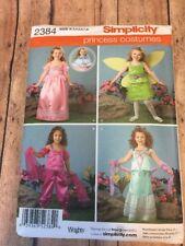 S2384 New Uncut Princess Costumes Size 3 4 5 6 7 8