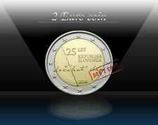 """SLOVENIA 2 EURO 2016 """"25th anniversary of independence"""" Commemorative coin * UNC"""