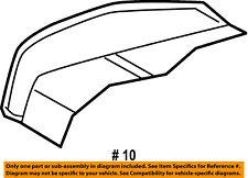 Dodge CHRYSLER OEM 2009 Journey Driver Seat-Foam Cushion Pad Right 68037291AA
