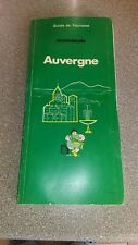 "GUIDE MICHELIN 1980 ""Auvergne"""